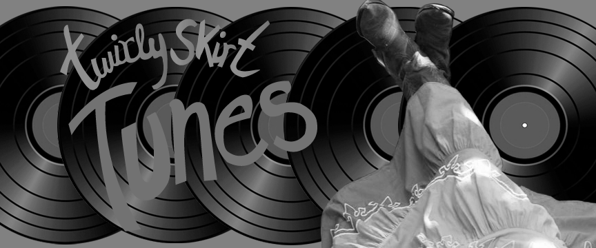 Twirly Skirt Banner BW